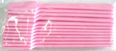 Large Plastic Spatulas Pink 12pk