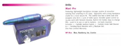 Mani-Pro Electric Nail Filing System-Strong, Quiet and Smooth-Ergonomic