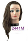 Royal Shivas 100% Human Hair Mannequins-Medium~16""