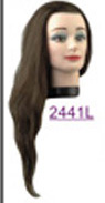 Royal Shivas 100% Human Hair Mannequins-Long~20""