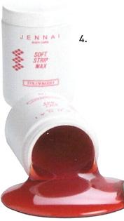 Jennai Strawberry Depilatory wax 1kg