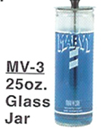 MARVY MV-3 Glass Disinfectant Jar