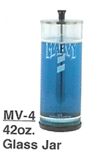 MARVY MV-4 Glass Disinfectant Jar