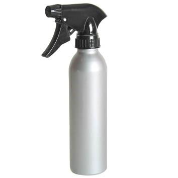 Aluminium Waterspray Silver 270ml