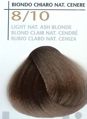 8/10 Light Nat Ash Blonde-Colorianne Prestige Dermatologically Tested Top of The Range Professional Italian Hair Colour in 100g tube