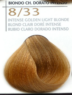 8/33 Intense Golden Light Blonde
