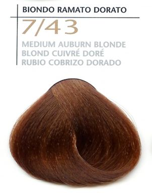 7/43 Medium Auburn Blonde