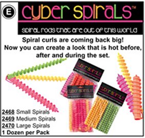 Luxor Cyber Spiral Rods Small 12pk