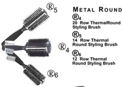 R4-Results 20 Row Thermal Round Styling Brush
