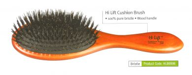 HLB6996-Hi Lift Cushion Brush-11 Rows-100% Pure Bristle/Wood handle