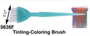 "0636F-Tinting Brush-1 1/2"" in FRosted Colours"
