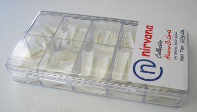 Nirvana Collection 250 Tips in a Tray-French Cut