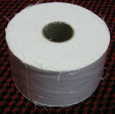 WRBCC50A-Waxing Roll-Hot Bod 50m Bleached Cotton Calico