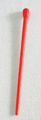 Long Plastic Hair Pins 100/bag-Red