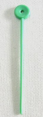 Long Plastic Hair Pins 100/bag-Green