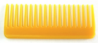 Volume Detangler Comb-Yellow