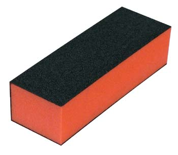 1008-Black Block Buffer 100/180 3 Sided