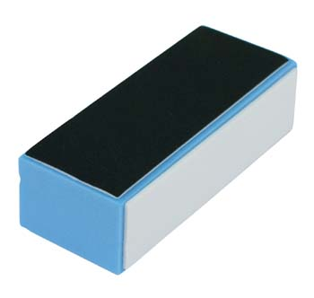 3 Way Satin Block Super Shine Blue Foam Buffer