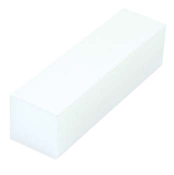 White Block Buffer 4 Sided 100/100