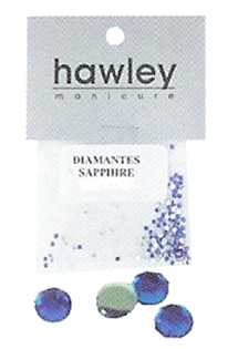 4103- Hawley Diamantes 144 Pack-Sapphire