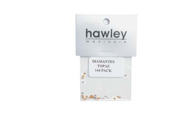 4103A- Hawley Diamantes 144 Pack-Topaz