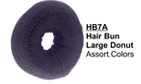 HB7A-Hair Bun Large Donut in Assorted Colours