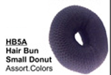 Hair Bun Small Donut in Assorted Colours