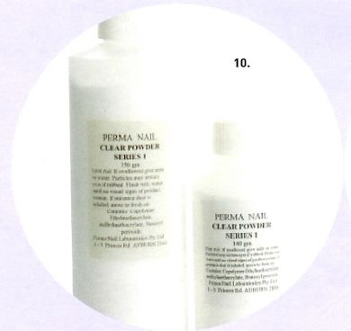 Perma Acrylic Powder Series 1-Clear-140g