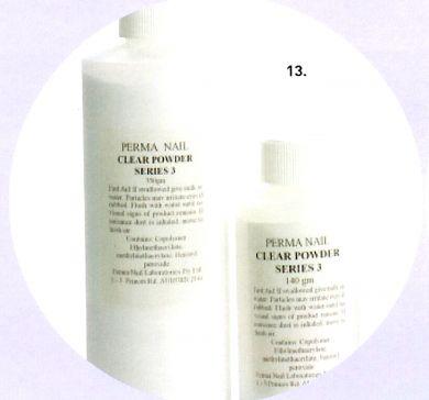 Perma Acrylic Powder Series 3-Clear-140g
