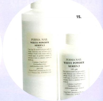 Perma Acrylic Powder Series 1-White-350g