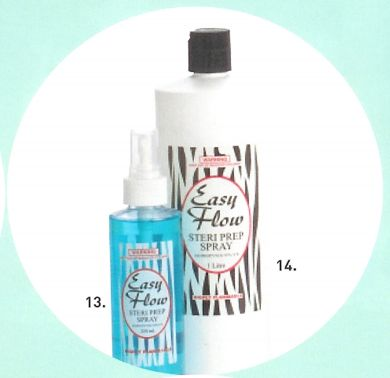 Easy Flow Steri Prep Spray 250ml- Non Acetone