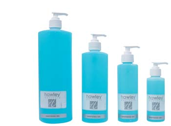 Sanitising Gel Blue Cool 125 ml Pump Pack