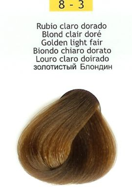 8-3 Golden Light Blonde