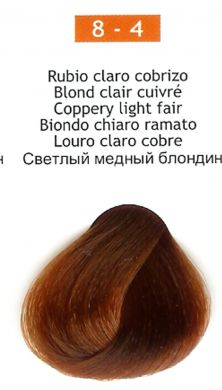 8-4 Coppery Light Blonde