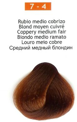 7-4 Coppery Medium Blonde