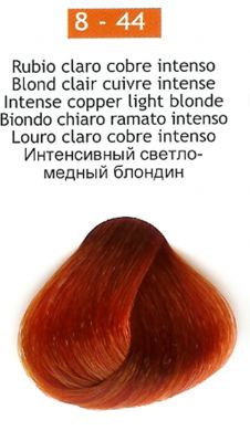 8-44 Intense Copper Light Blonde
