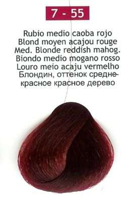 7-55 Medium Blonde Reddish Mahogany