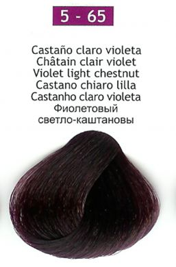 5-65 Violet Light Chestnut