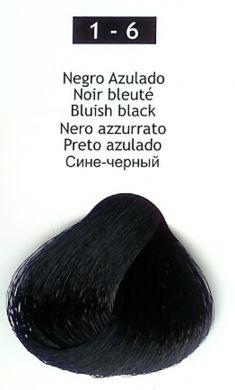 1-6 Bluish Black
