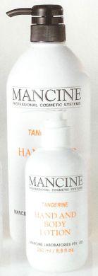 Mancine Hand & Body Lotion Tangerine 1000ml