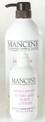 Mancine Hand & Body Lotion Lavender & WitchHazel 250ml