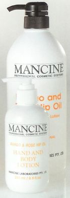 Mancine Hand & Body Lotion Mango & Rose Hip Oil 1000ml