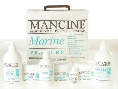 Mancine Marine Foaming Foot Bath with Natural Botanicals 500ml