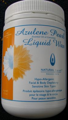 Natural Look Azulene Pearl Liquid Wax 1Kg