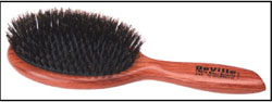 Denman Wooden Paddle 9 Row Brush Oval 210mm