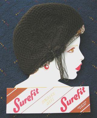 Surefit Slumber Nets-Medium Brown