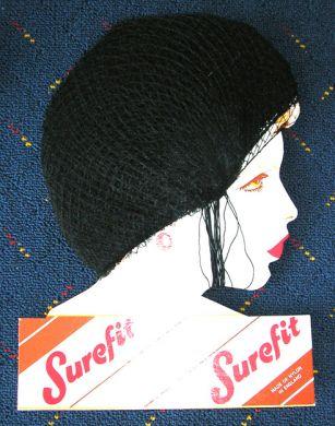Surefit Slumber Nets-Black
