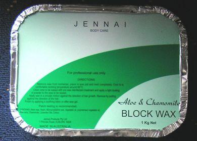 Jennai Aloe & Chamomile Hard Wax 1kg