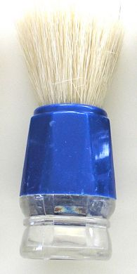 SB1-Plastic Handle Budget Shaving Brush-Blue