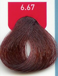 6.67-Dark Red Violet Blonde Indola Profession 60g tube